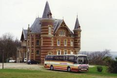 1990 Retrospective France North West and Paris, School Visit. (15) Our school hotel Chateau De La Guerche. 015