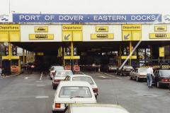 1990 Retrospective France North West and Paris, School Visit. (2) Dover. 002