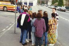 1990 Retrospective France North West and Paris, School Visit. (32) Lillebonne. 032