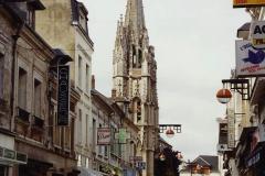 1990 Retrospective France North West and Paris, School Visit. (34) Lillebonne. 034