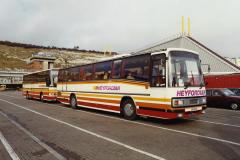 1990 Retrospective France North West and Paris, School Visit. (4) Dover. 004