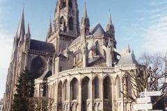 1990 Retrospective France North West and Paris, School Visit. (56) Bayeux. 056