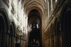 1990 Retrospective France North West and Paris, School Visit. (57) Bayeux. 057
