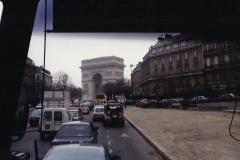 1990 Retrospective France North West and Paris, School Visit. (68) Paris. 068