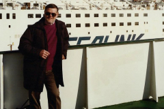 1990 Retrospective France North West and Paris, School Visit. (7) Dover. Your Host.007