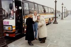 1990 Retrospective France North West and Paris, School Visit. (72) Paris. 072