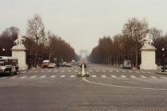 1990 Retrospective France North West and Paris, School Visit. (76) Paris. 076