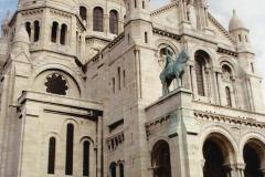 1990 Retrospective France North West and Paris, School Visit. (79) Paris. 079