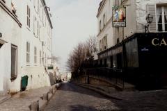 1990 Retrospective France North West and Paris, School Visit. (81) Paris. 081