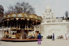 1990 Retrospective France North West and Paris, School Visit. (84) Paris. 084