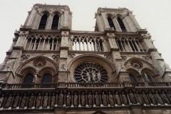 1990 Retrospective France North West and Paris, School Visit. (86) Paris. 086