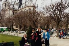 1990 Retrospective France North West and Paris, School Visit. (88) Paris. 088