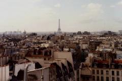 1990 Retrospective France North West and Paris, School Visit. (93) Paris. 093