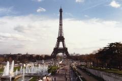 1990 Retrospective France North West and Paris, School Visit. (98) Paris. 098