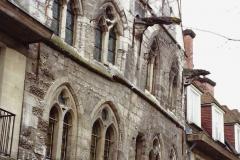1990 Retrospective France North West and Paris, school visit. (18) Caudebec En Caux. 018
