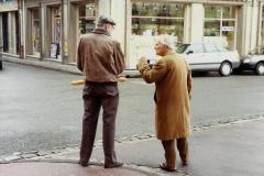 1990 Retrospective France North West and Paris, school visit. (22) Caudebec En Caux. 022