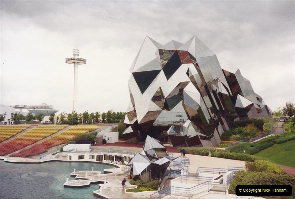 1994 France. (118) Futuroscope Theme Park. 123