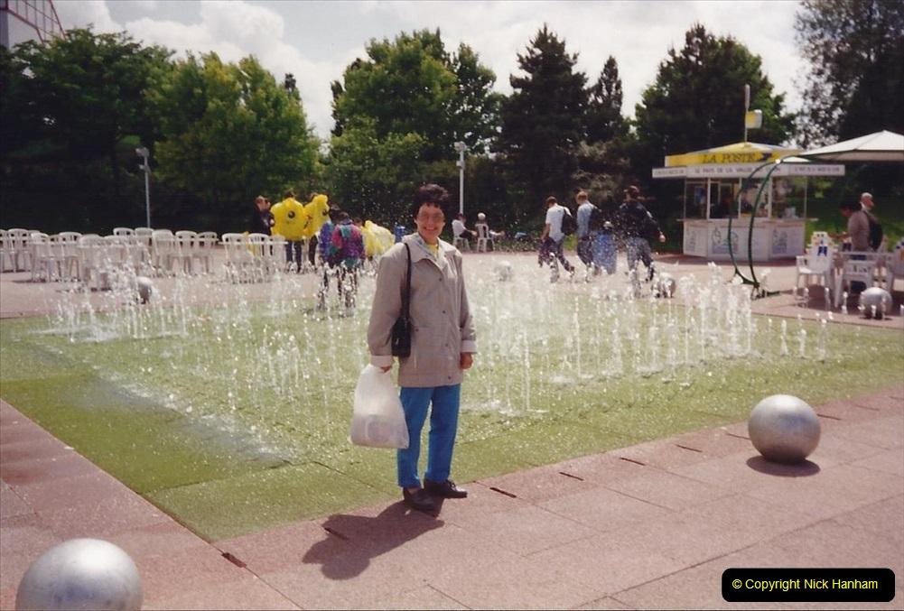 1994 France. (119) Futuroscope Theme Park. 124