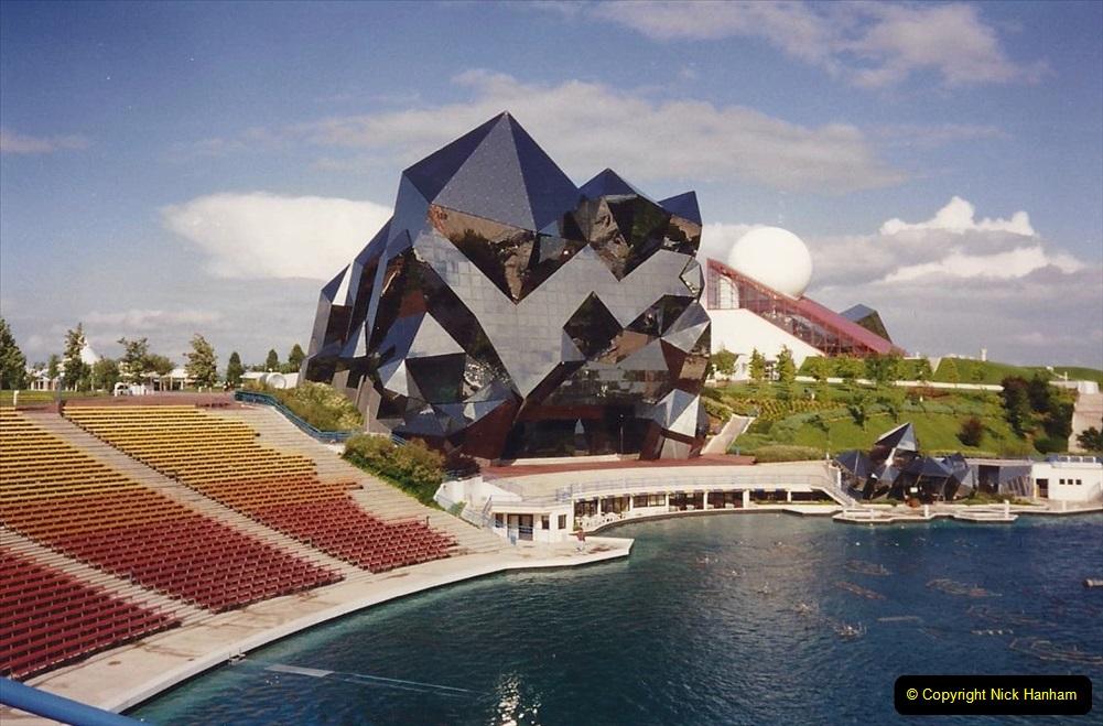 1994 France. (121) Futuroscope Theme Park. 126