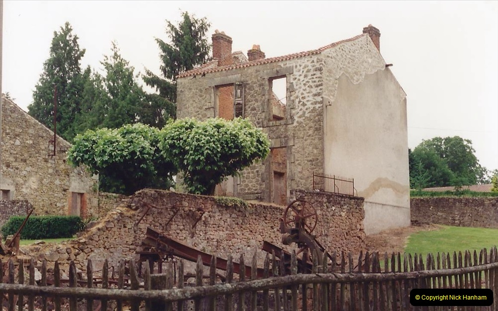 1994 France. (126) Oradour Sur-Glane was sacked by retreating German forces at the end of WW2. 131