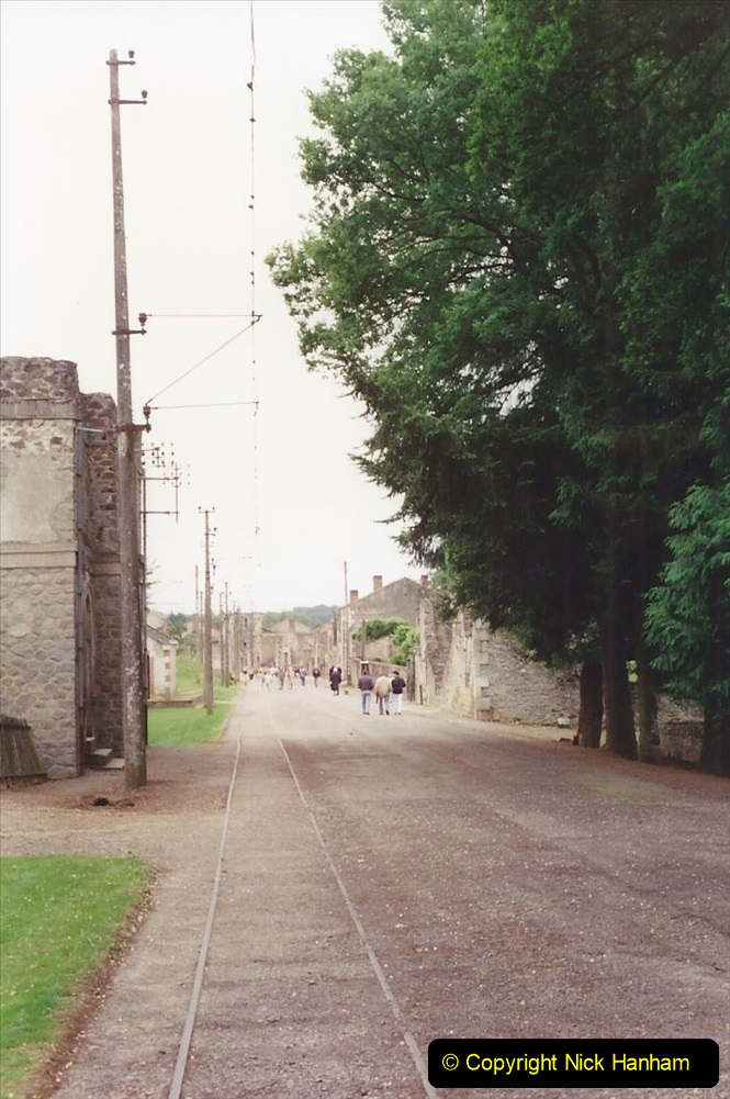 1994 France. (130) Oradour Sur-Glane was sacked by retreating German forces at the end of WW2. 135
