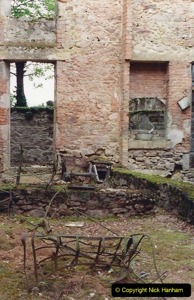 1994 France. (131) Oradour Sur-Glane was sacked by retreating German forces at the end of WW2. 136