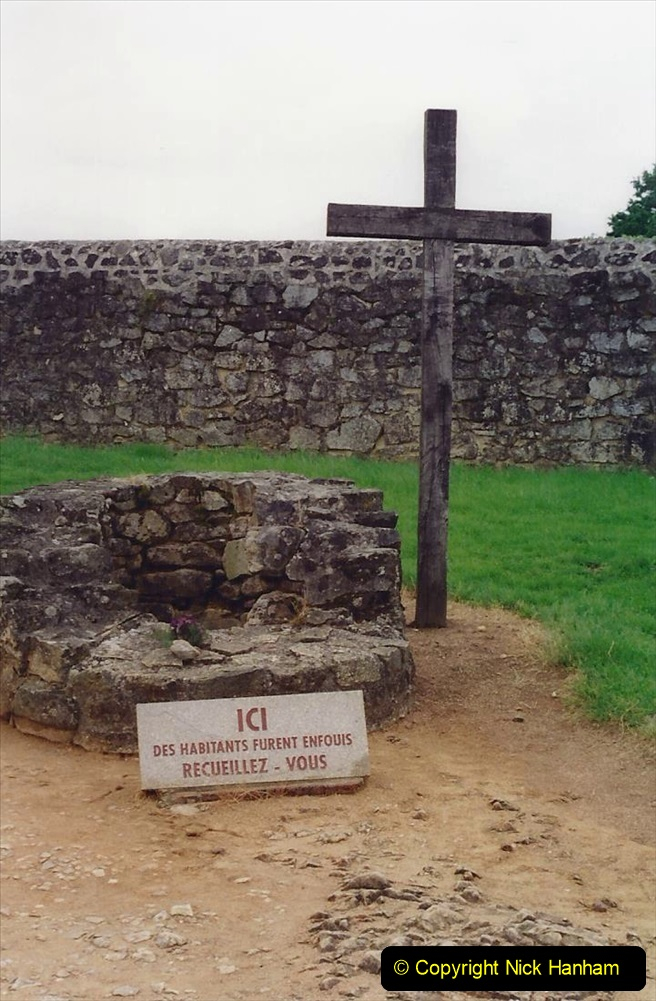 1994 France. (135) Oradour Sur-Glane was sacked by retreating German forces at the end of WW2. 140
