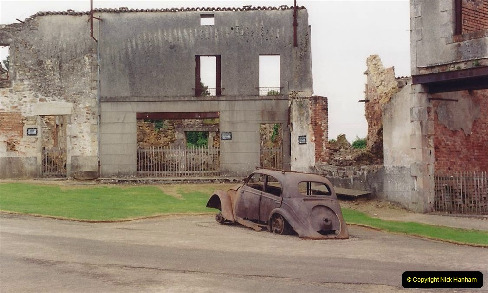 1994 France. (136) Oradour Sur-Glane was sacked by retreating German forces at the end of WW2. 141