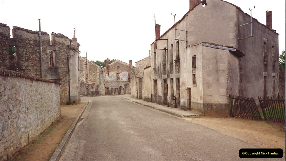 1994 France. (139) Oradour Sur-Glane was sacked by retreating German forces at the end of WW2. 144