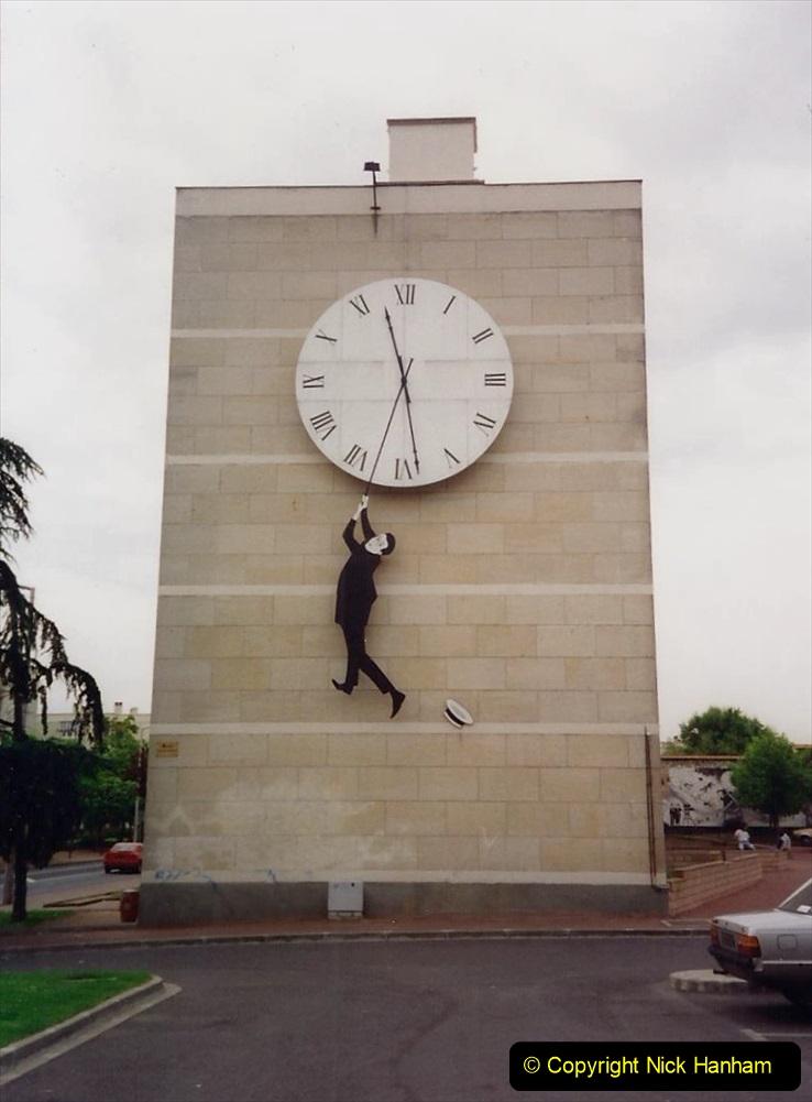 1994 France. (18) Chatellerault and Harold Lloyd.018
