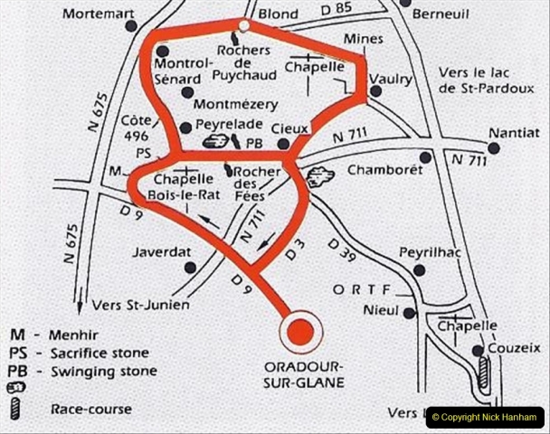1994 France. (122) Oradour Sur-Glane was sacked by retreating German forces at the end of WW2. 127
