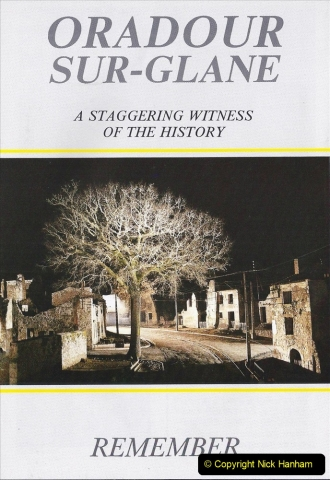 1994 France. (123) Oradour Sur-Glane was sacked by retreating German forces at the end of WW2. 128