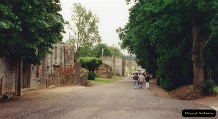 1994 France. (124) Oradour Sur-Glane was sacked by retreating German forces at the end of WW2. 129