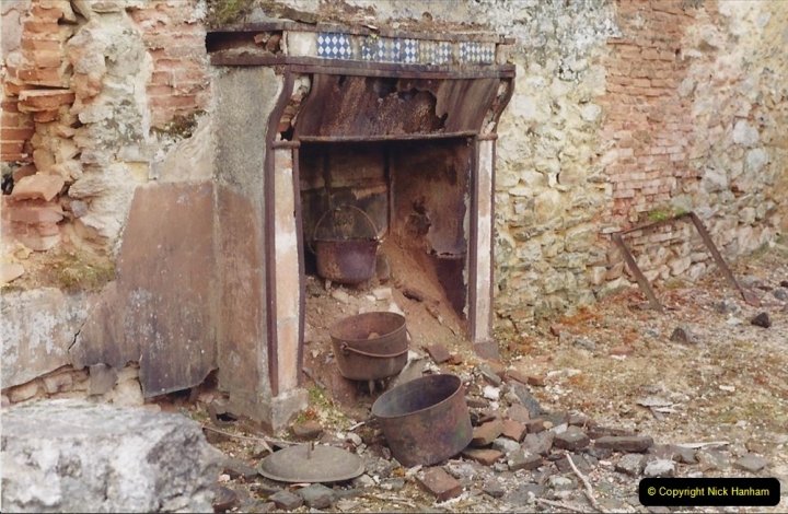 1994 France. (129) Oradour Sur-Glane was sacked by retreating German forces at the end of WW2. 134