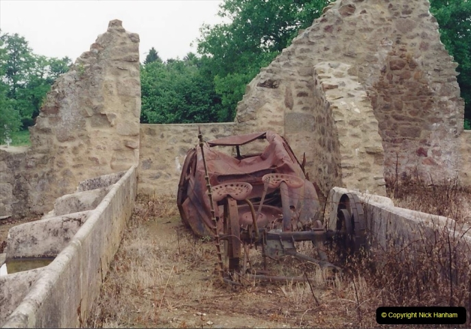 1994 France. (132) Oradour Sur-Glane was sacked by retreating German forces at the end of WW2. 137