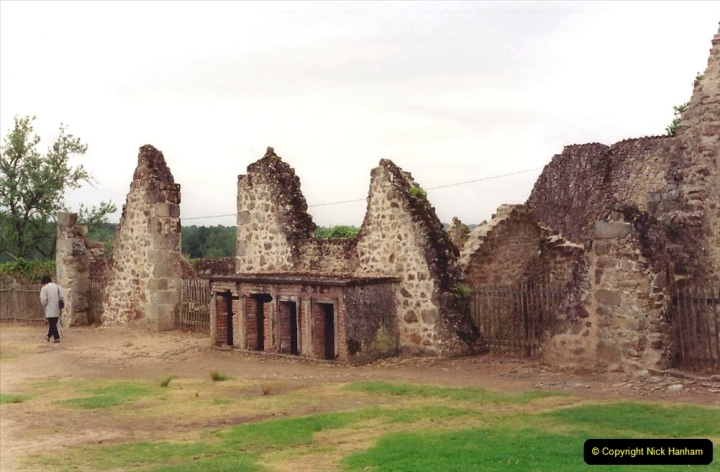 1994 France. (134) Oradour Sur-Glane was sacked by retreating German forces at the end of WW2. 139