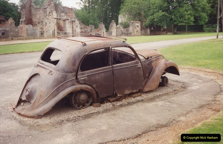 1994 France. (137) Oradour Sur-Glane was sacked by retreating German forces at the end of WW2. 142