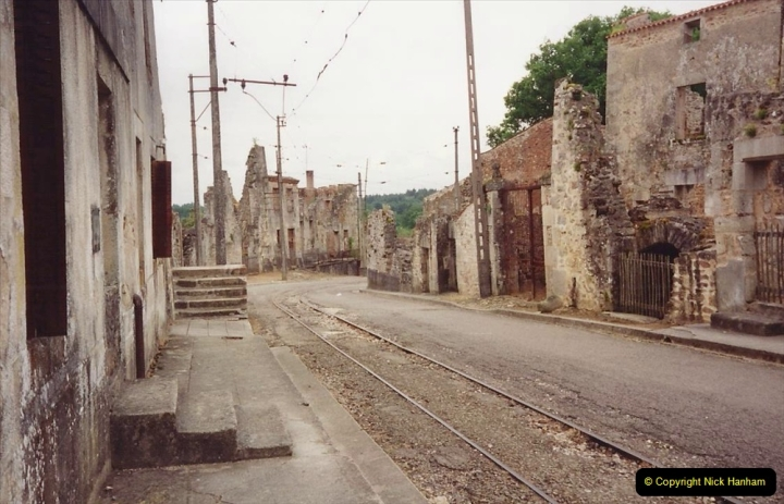 1994 France. (141) Oradour Sur-Glane was sacked by retreating German forces at the end of WW2. 146