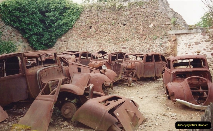 1994 France. (143) Oradour Sur-Glane was sacked by retreating German forces at the end of WW2. 148