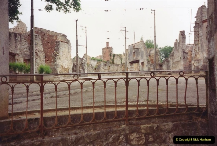1994 France. (146) Oradour Sur-Glane was sacked by retreating German forces at the end of WW2. 151