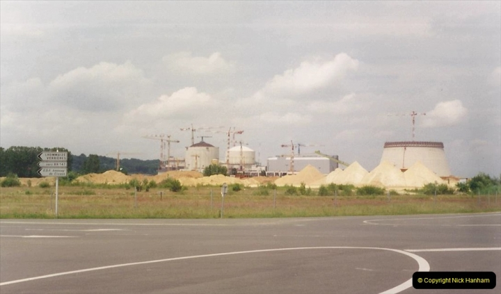 1994 France. (35) Nuclear power station under construction.035