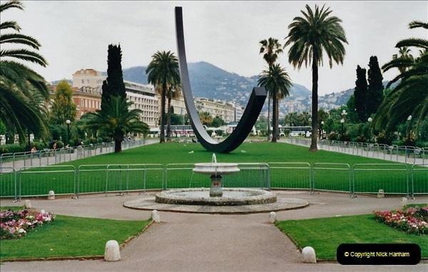 May 2001 France & Corsica. (227) Nice France. 226