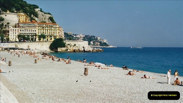 May 2001 France & Corsica. (247) Nice France. 246
