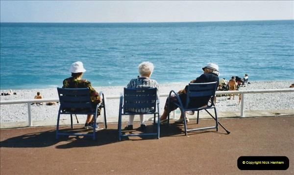 May 2001 France & Corsica. (248) Nice France. Lovely day dear.247
