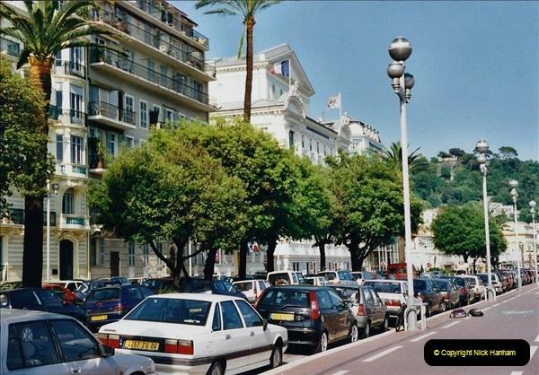 May 2001 France & Corsica. (249) Nice France. 248