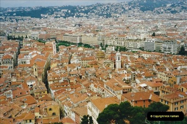 May 2001 France & Corsica. (258) Nice France. 257