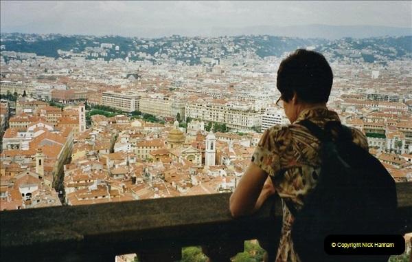 May 2001 France & Corsica. (259) Nice France. 258