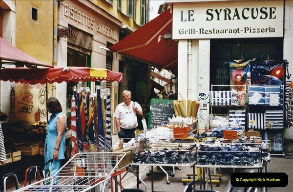 May 2001 France & Corsica. (266) Nice France. 265