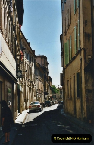 May 2001 France & Corsica. (27) Avignon France. 027
