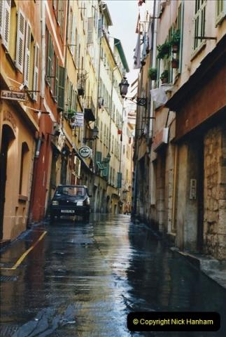 May 2001 France & Corsica. (285) Nice France. 284